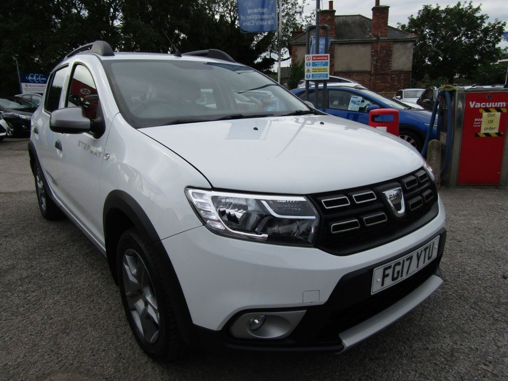 USED 2017 17 DACIA SANDERO 0.9 STEPWAY LAUREATE TCE 5d 90 BHP Only £150 per month with £800 deposit     Part Exchange no problem  Click & collect or Click & deliver  HPI clear Buy locally Value checked Only £30 to tax