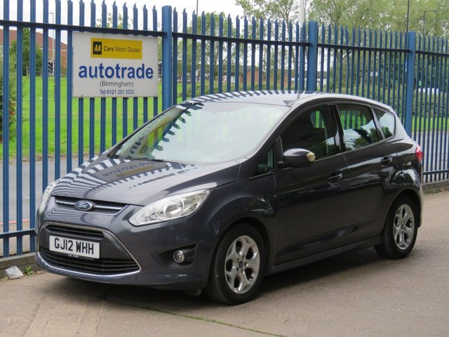 USED 2012 12 FORD C-MAX 1.6 ZETEC 5d 104 BHP ULEZ COMPLIANT, BLUETOOTH, DAB AND USB, POWER TAILGATE POWER TAILGATE, BLUETOOTH WITH USB AND VOICE CONTROL, AIR CON, ABS, CD RADIO, CENTRAL LOCKING, ULEZ COMPLIANT