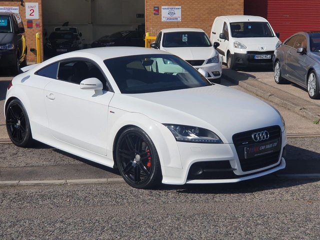 USED 2012 12 AUDI TT 2.0 TDI QUATTRO S LINE BLACK EDITION 2d 168 BHP FSH 19 INCH ALLOYS  BOSE SOUND SYSTEM  TIMING BELT WATER PUMP DONE RECENTLY BY US JUST HAD TIMING BELT WATER PUMP DONE