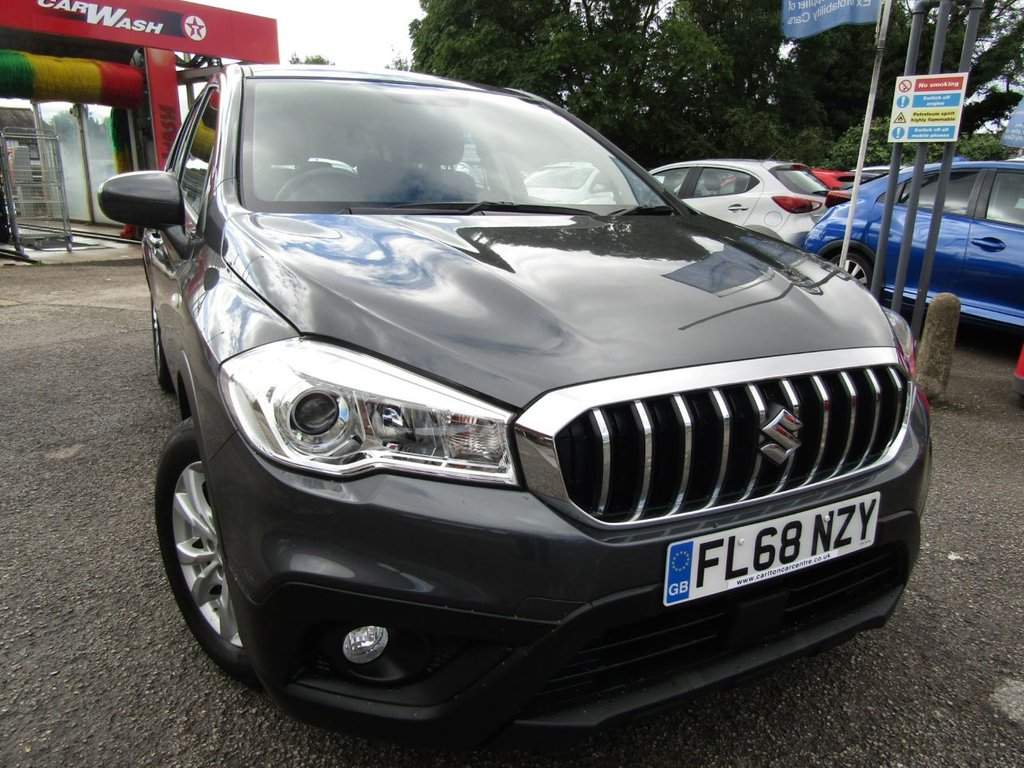 USED 2018 68 SUZUKI SX4 S-CROSS 1.0 SZ4 BOOSTERJET 5d 111 BHP A ONE OWNER CAR , EX MOTABILITY WITH A  FULL SERVICE HISTORY,, GREAT SPEC CAR COMES WITH,  BLUETOOTH DAB DAYTIME  RUNNING LIGHTS  MUCH MORE, GREAT HIGHER DRIVING POSITION FOR EASY ACCESS,