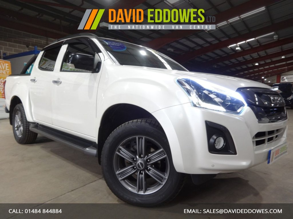 USED 2017 67 ISUZU D-MAX 1.9 BLADE DCB 4d 161 BHP DOUBLE CAB PICK UP - AUTOMATIC - - AA DEALER PROMISE - TRADING STANDARDS APPROVED -