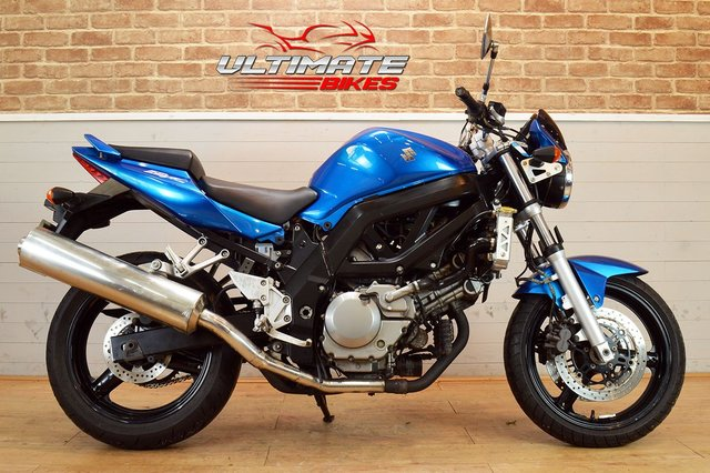 USED 2007 07 SUZUKI SV 650 K6  - FREE DELIVERY AVAILABLE