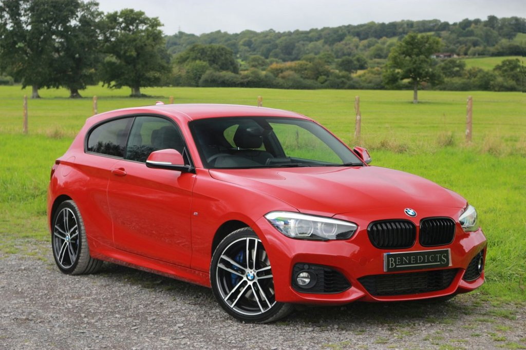 USED 2018 68 BMW 1 SERIES 0.0 118I M SPORT SHADOW EDITION 3d 134 BHP