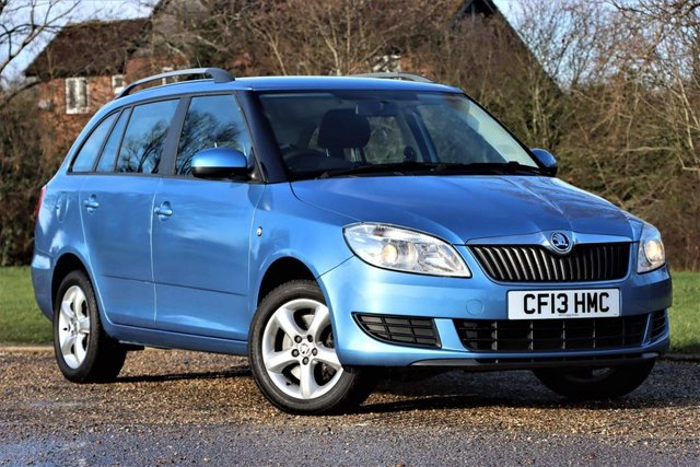 USED 2013 13 SKODA FABIA 1.2 TSI SE Auto Seq 5dr Low Genuine Mileage+Automatic