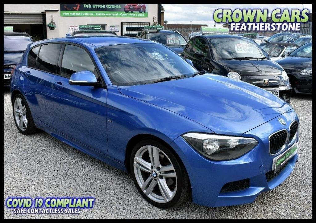 USED 2013 13 BMW 1 SERIES 2.0 118d M Sport 5dr AMAZING LOW RATE FINANCE DEALS