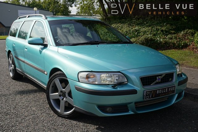 "USED 2004 04 VOLVO V70 2.5 R 5d 295 BHP *CRUISE CONTROL, FULL LEATHER INTERIOR, 18"" ALLOYS!*"