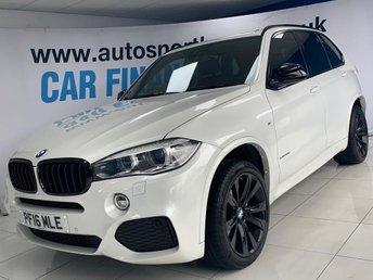 2016 BMW X5 3.0 XDRIVE30D M SPORT 5d 255 BHP £28500.00