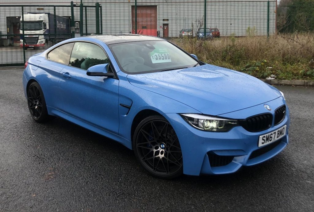 USED 2017 67 BMW M4 3.0L M4 COMPETITION 2d 444 BHP