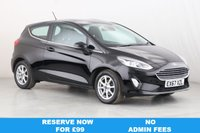 USED 2017 67 FORD FIESTA 1.0 ZETEC 3d 99 BHP 1 OWNER | ALLOYS | AIR CON |