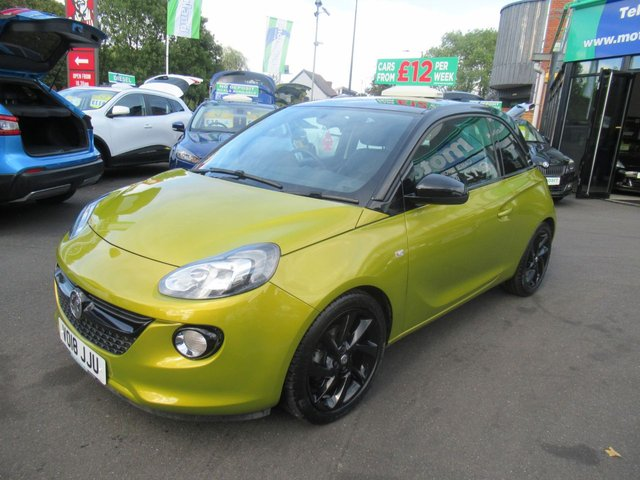 USED 2018 18 VAUXHALL ADAM 1.2 ENERGISED 3d 69 BHP ** 1 OWNER FROM BRAND NEW **