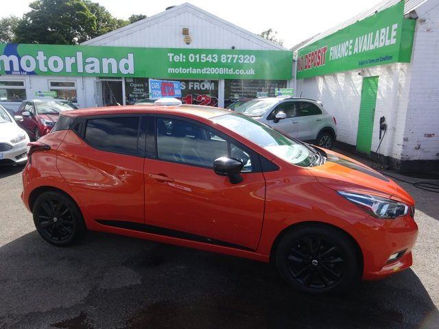 USED 2017 67 NISSAN MICRA 0.9 IG-T N-CONNECTA 5d 89 BHP **JUST ARRIVED...01543 877320...SAT NAV**