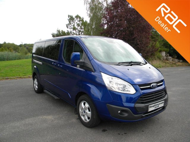 USED 2017 17 FORD TOURNEO CUSTOM 2.0 310 TITANIUM TDCI 5d 129 BHP BY APPOINTMENT ONLY - 9 Full Leather Heated Seats, Air Con, Alloy Wheels, Bluetooth, DAB, Cruise Control