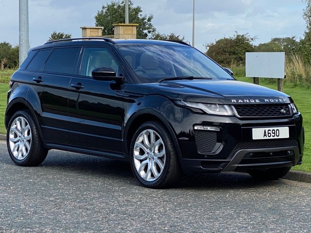 USED 2016 16 LAND ROVER RANGE ROVER EVOQUE 2.0 TD4 HSE DYNAMIC LUX 5d 177 BHP Head Up Display Dual View TV