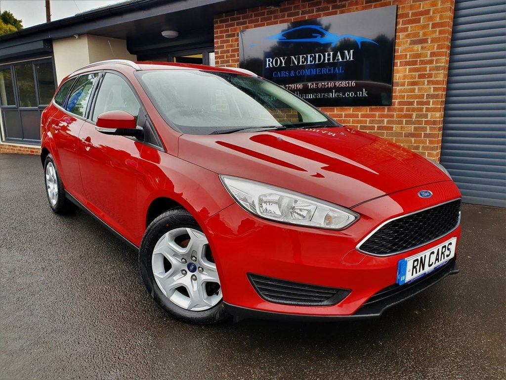 USED 2015 15 FORD FOCUS 1.5 STYLE TDCI 5DR ESTATE 94 BHP *** NEW TYRES - FINANCE ME TODAY ***