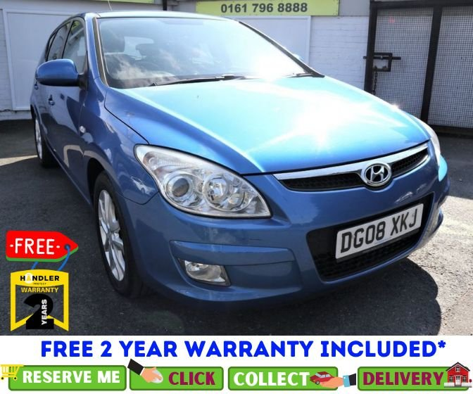 USED 2008 08 HYUNDAI I30 1.6 STYLE 5d 121 BHP *CLICK & COLLECT OR DELIVERY