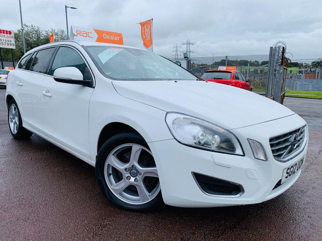 USED 2012 12 VOLVO V60 2.4 D5 SE Lux 5dr Drive away today..