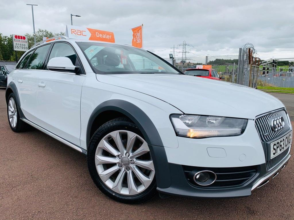 USED 2013 63 AUDI A4 ALLROAD 2.0 TDI quattro 5dr Drive away today