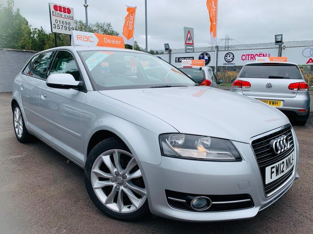 USED 2012 12 AUDI A3 1.6 TDI Sport Sportback 5dr Drive away today..