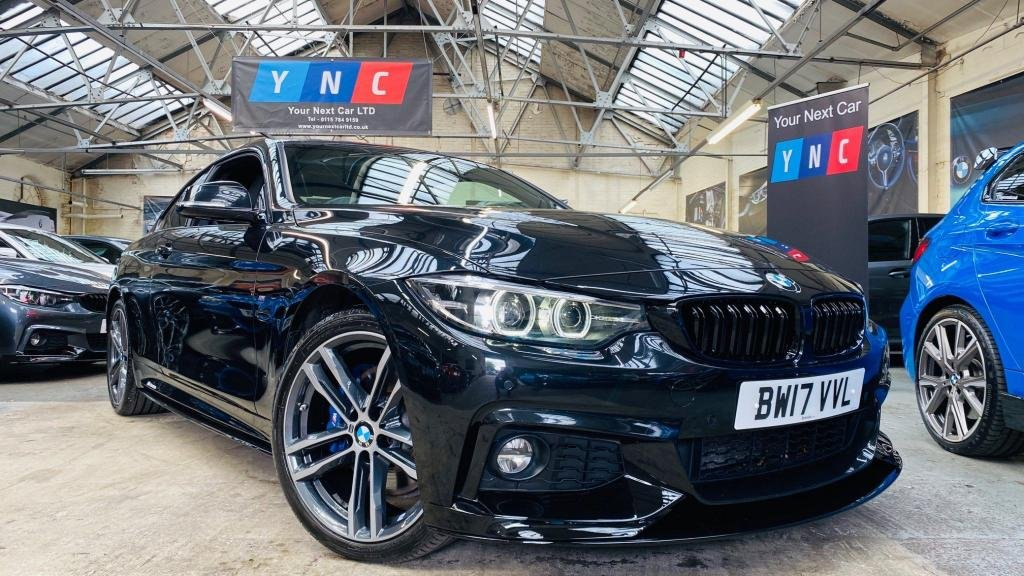 USED 2017 17 BMW 4 SERIES 2.0 420d M Sport xDrive 2dr PERFORMANCEKIT+XDRIVE+PLUSPACK
