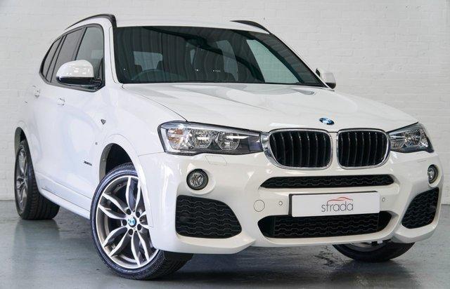 2017 67 BMW X3 2.0 XDRIVE20D M SPORT 5d 188 BHP