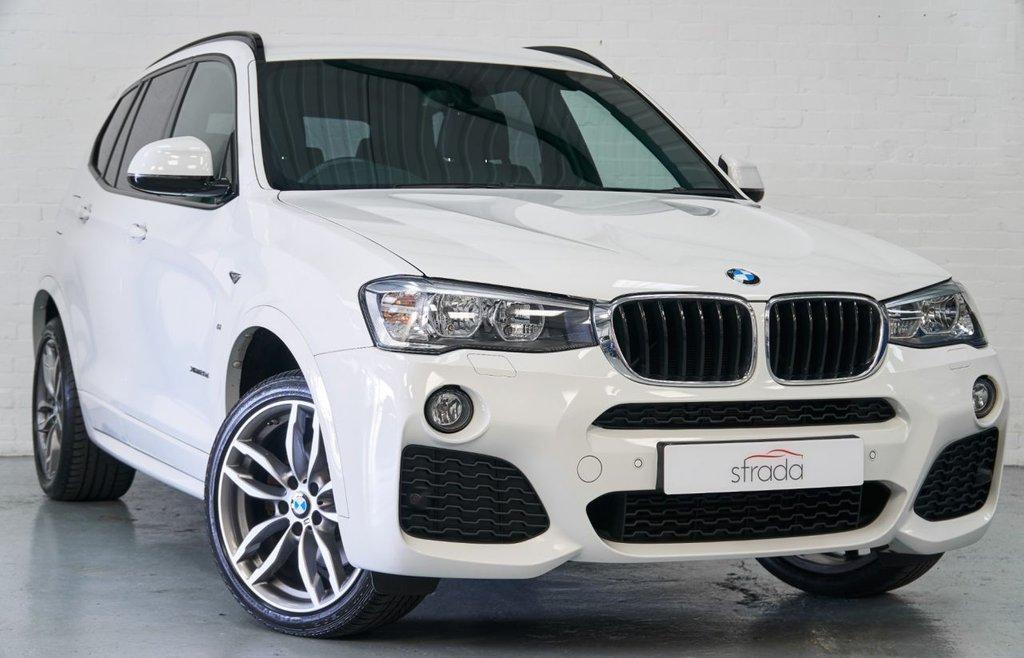USED 2017 67 BMW X3 2.0 XDRIVE20D M SPORT 5d 188 BHP