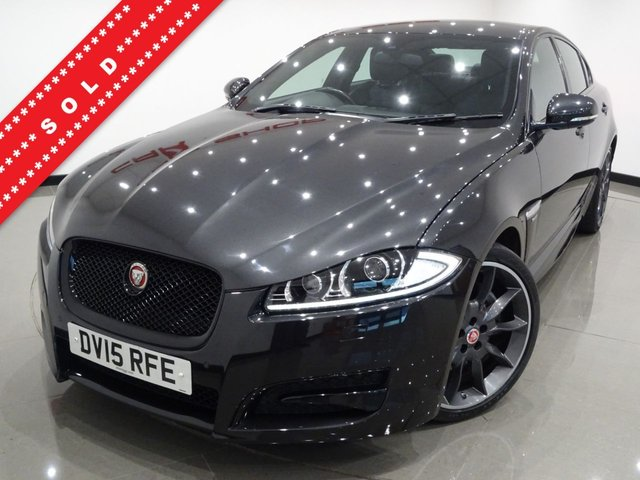 USED 2015 15 JAGUAR XF 2.2 D (200 BHP) R-SPORT BLACK AUTO (S/S) 4DR..NAV..20 S..AERO BODYKIT..BLACK PACK..E/HEATED LEATHERS..CRUISE..R/CAMERA..XENONS..LEDS..PRIVACY 20 S+TINTS+XENONS+LED+R/CAM+EHM LEATHERS+NAV+CRUISE