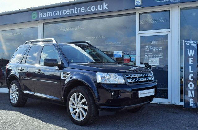 2011 61 LAND ROVER FREELANDER 2 2.2 SD4 HSE 5d 190 BHP AUTOMATIC