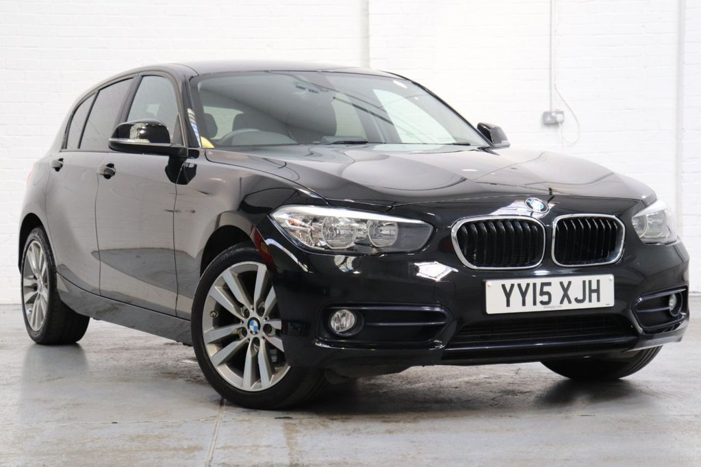 USED 2015 15 BMW 1 SERIES 1.6 118I SPORT 5d 134 BHP 1 Owner + Cruise + Parking Aid + Dab