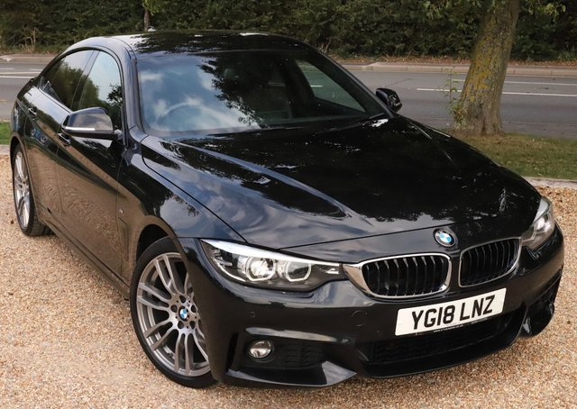 2018 18 BMW 4 SERIES 2.0 420I M SPORT GRAN COUPE 4d 181 BHP AUTOMATIC