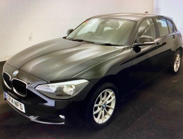 2014 14 BMW 1 SERIES 2.0 116D SE 5d 114 BHP AUTOMATIC