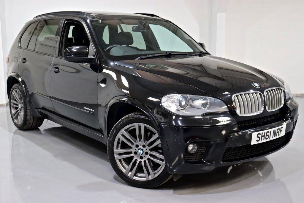 USED 2012 61 BMW X5 3.0 XDRIVE40D M SPORT 5d 302 BHP