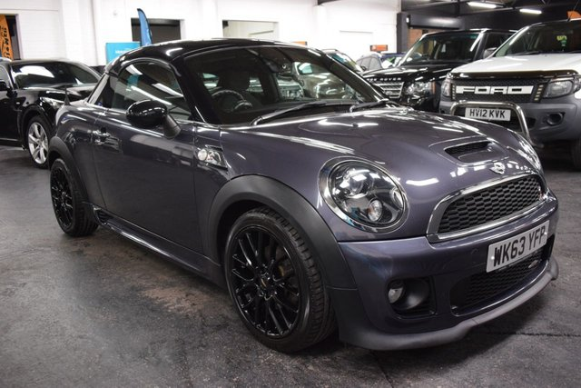 USED 2013 63 MINI COUPE 2.0 COOPER SD 2d 141 BHP STUNNING CAR - LOW MILES - 45K - 5 SERVICE STAMPS TO 39K - REAR PDC - HALF LEATHER
