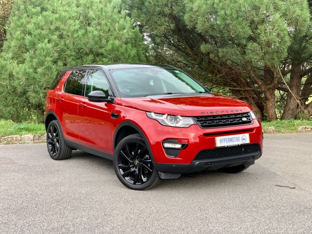USED 2015 65 LAND ROVER DISCOVERY SPORT 2.0 TD4 HSE BLACK 5d Pan Roof   Sat Nav   Rear Cam