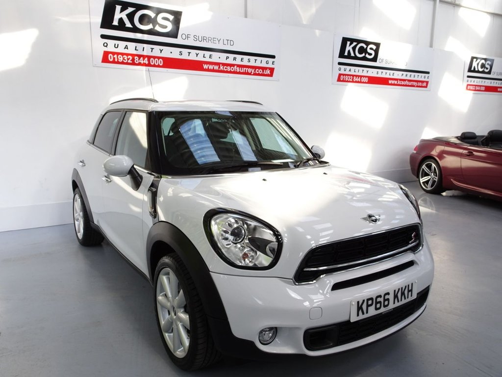 USED 2016 66 MINI COUNTRYMAN 1.6 COOPER S 5d 184 BHP CHILI - PAN ROOF - HTD LEATHER