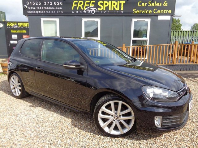 USED 2010 60 VOLKSWAGEN GOLF 2.0 TDI GTD 3dr Leather, Sat Nav, Bluetooth