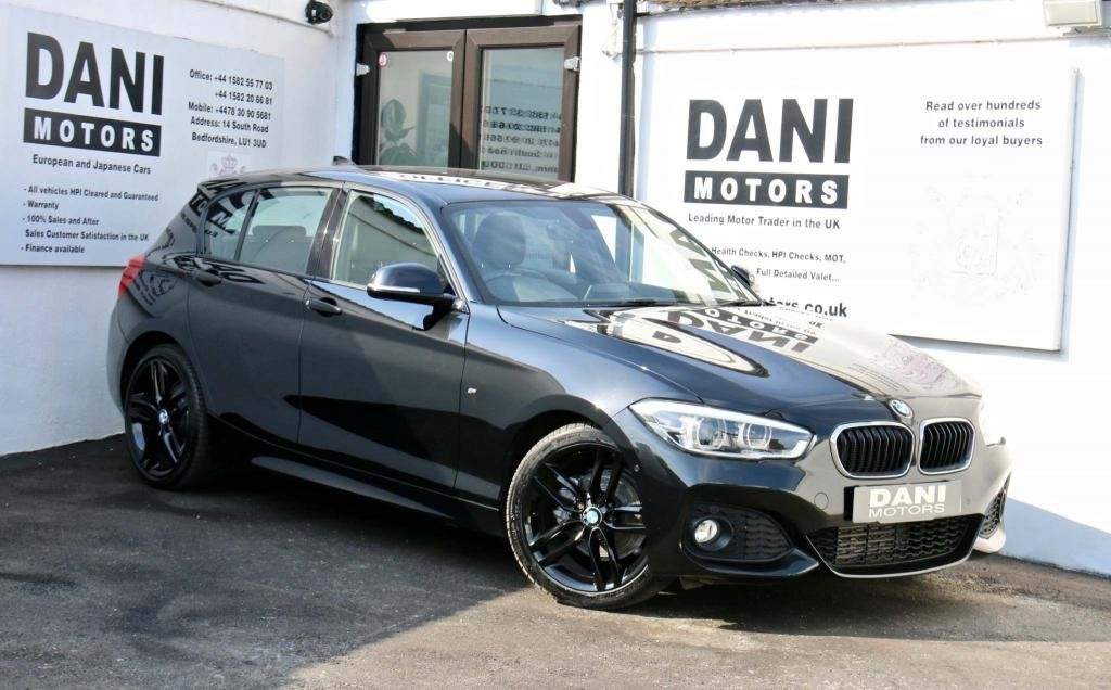 USED 2015 65 BMW 1 SERIES 2.0 118d M Sport Auto (s/s) 5dr SATNAV*REV CAMERA*LEATHER SEAT