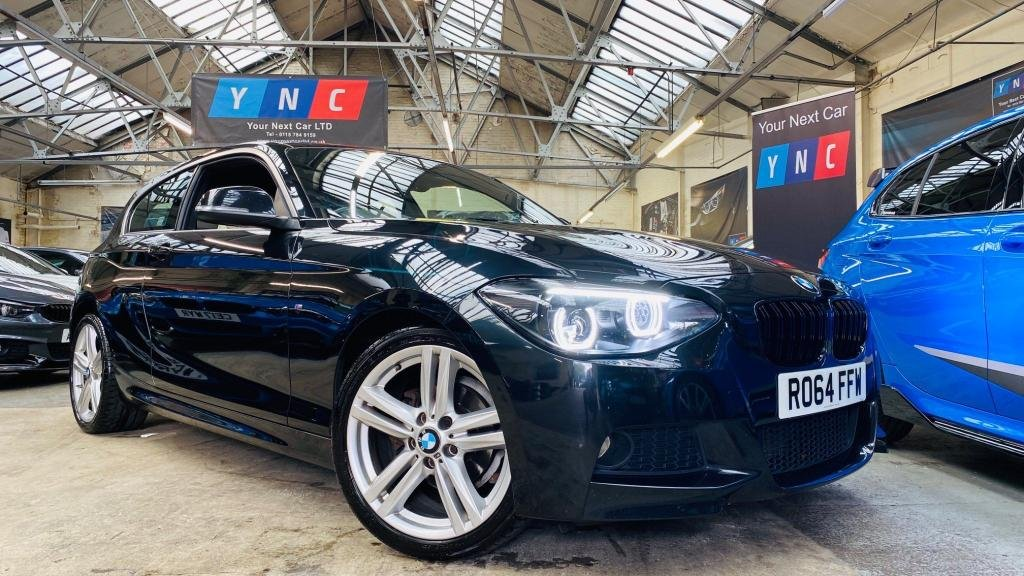 USED 2014 64 BMW 1 SERIES 2.0 116d M Sport Sports Hatch (s/s) 3dr YNCSTYLING+FACELIFTLTS+HTDLTHR