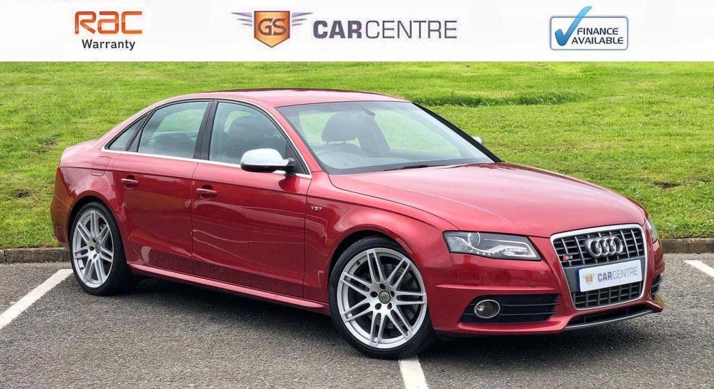 USED 2011 AUDI S4 3.0 TFSI V6 quattro 4dr 7 Stamps + Heated Seats + DAB
