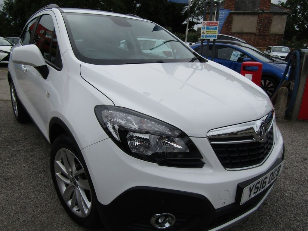 USED 2016 16 VAUXHALL MOKKA 1.4 EXCLUSIV S/S 5d 138 BHP Sporty SUV ** Excellent condition ** Full History ** New MOT ** Drives great 140bhp ** low rate finance ** P/X welcome ** 12Mths AA breakdown ** click & collect or click &deliver **Good garage read our reviews **
