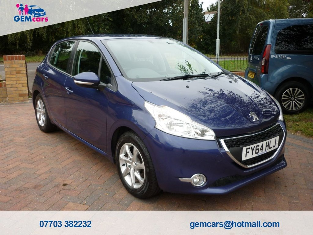 USED 2014 64 PEUGEOT 208 1.2 ACTIVE 5d 82 BHP GO TO OUR WEBSITE TO WATCH A FULL WALKROUND VIDEO