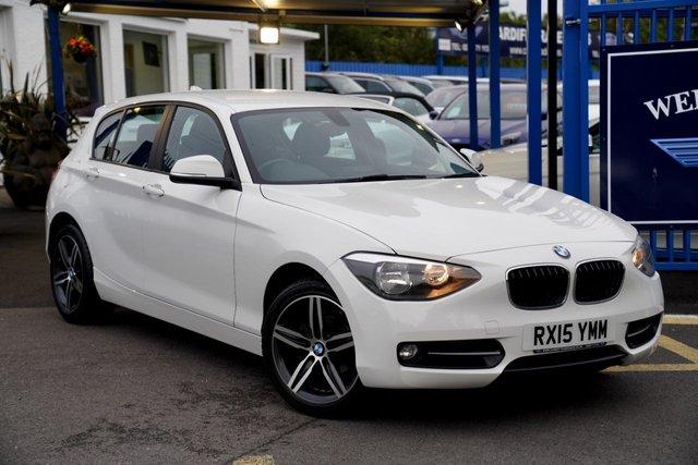 2015 15 BMW 1 SERIES 2.0 118D SPORT 5d 141 BHP