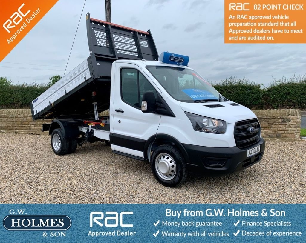 USED 2020 70 FORD TRANSIT 350 RWD 2.0 ECOBLUE LEADER 1-WAY TIPPER 1 STOP EURO 6 S/S **70 REG**