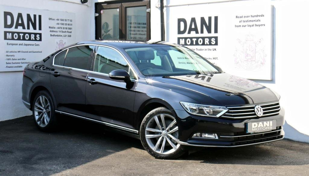 USED 2016 16 VOLKSWAGEN PASSAT 2.0 TDI BlueMotion Tech GT (s/s) 4dr 1 OWNER*SATNAV*PARKING AID*