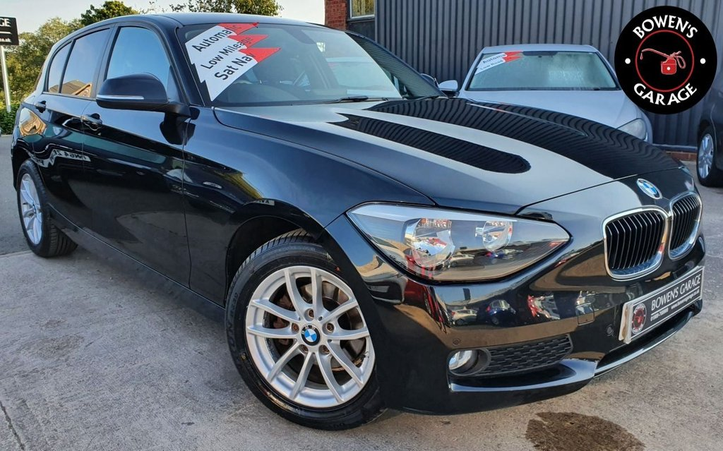 USED 2014 64 BMW 1 SERIES 1.6 116I SE 5D AUTO 135 BHP AUTO - 2 Owners - Very Low Miles - S/History