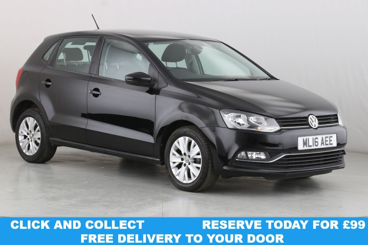 USED 2016 16 VOLKSWAGEN POLO 1.0 SE 5d 74 BHP 1 OWNER | DAB | ALLOYS | AC |