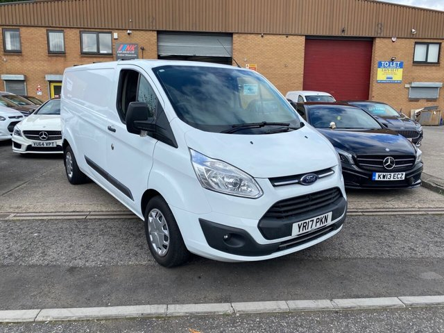 2017 17 FORD TRANSIT CUSTOM 2.0L 340 TREND LR P/V 0d 129 BHP RARE LONG WHEEL BASE MODEL COMES WITH FULL FORD SERVICE HISTORY PRICE IS PLUS VAT SOLD TO PETER FROM WREXHAM