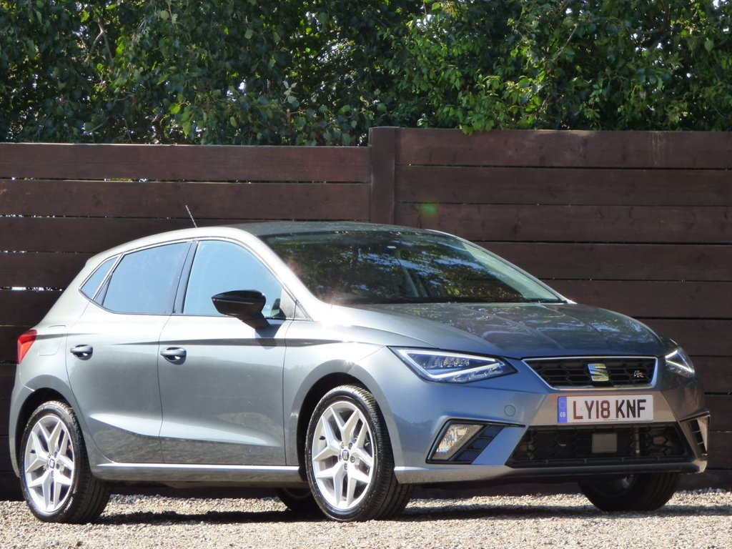 USED 2018 18 SEAT IBIZA 1.0 TSI FR DSG 5d 114 BHP *** NAVIGATION, FRONT AND REAR PARKING SENSORS ***