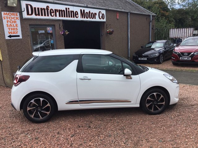 USED 2017 17 DS DS 3 1.6 BLUEHDI ELEGANCE S/S 3d 98 BHP ++ LOW MILEAGE DIESEL ++