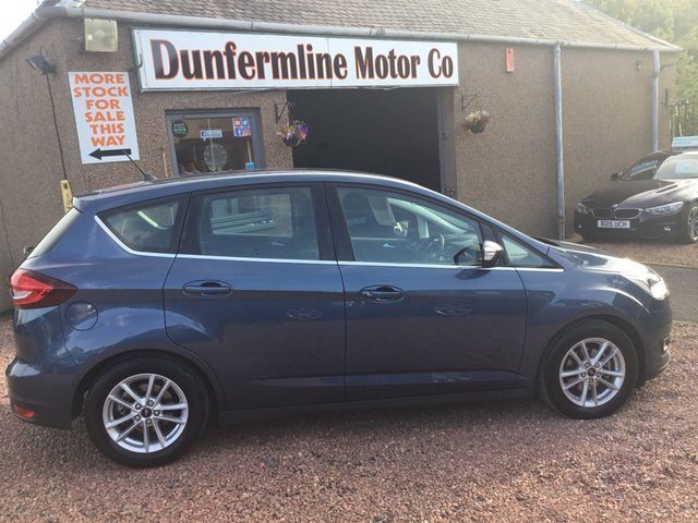 USED 2018 68 FORD C-MAX 1.5 ZETEC 5d 118 BHP ++ LOW MILEAGE DIESEL AUTOMATIC ++
