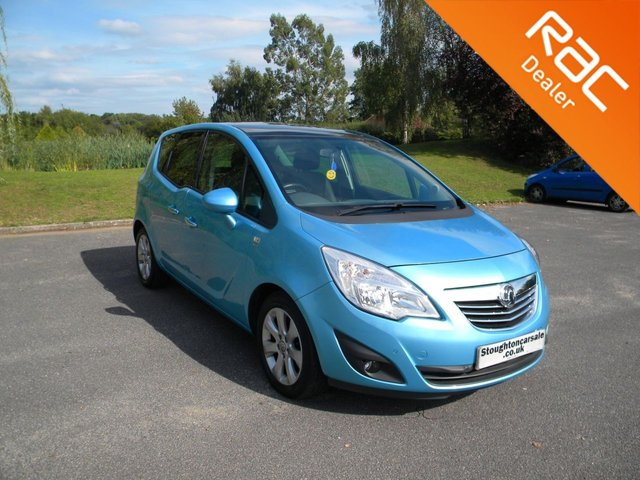 USED 2010 60 VAUXHALL MERIVA 1.4 SE 5d 138 BHP BY APPOINTMENT ONLY - Great Size Family Car, Alloy Wheels, Cruise Control, Air Con, Bluetooth. Panoramic Roof